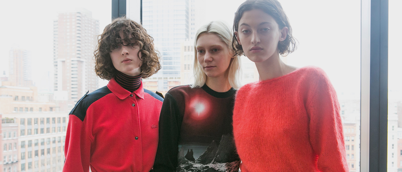 LACOSTE FALL 2017 RTW COLLECTION