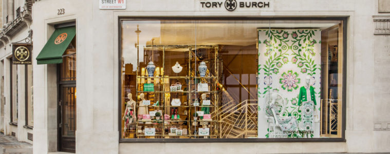 TORY BURCH NEW BOUTIQUE IN LONDON