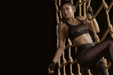 PUMA 'VELVET ROPE' AD CAMPAIGN FEATURING KYLIE JENNER