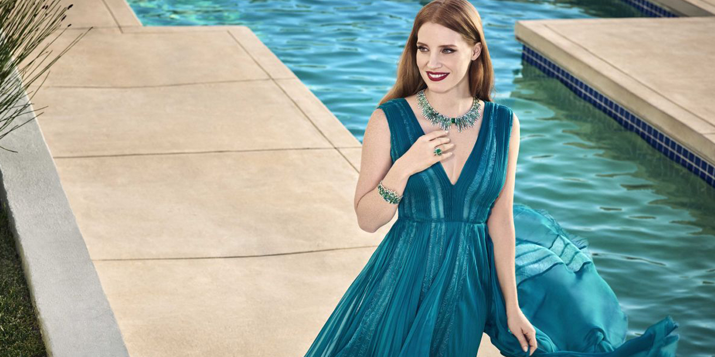 PIAGET SUNGLIGHT JOURNEY COLLECTION FILM STARRING JESSICA CHASTAIN