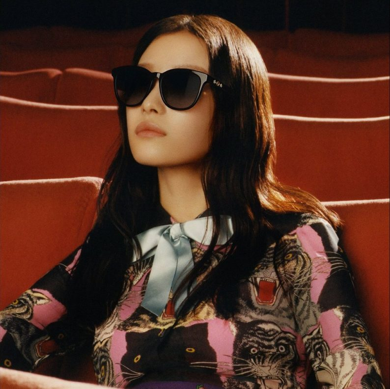 f3c24e7d3eb3c Gucci Eyewear Campaign 2017