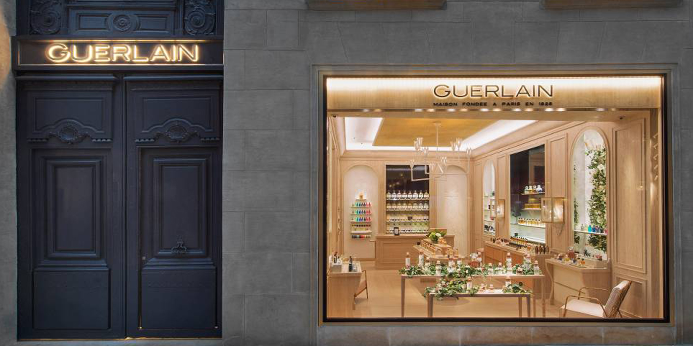 GUERLAIN NEW FRAGRANCE BOUTIQUE IN PARIS