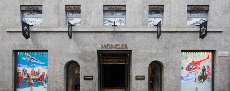 MONCLER LARGEST GLOBAL FLAGSHIP STORE IN MILAN