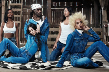 CALVIN KLEIN JEANS SPRING 2018 AD CAMPAIGN FEATURING SOLANGE KNOWLES