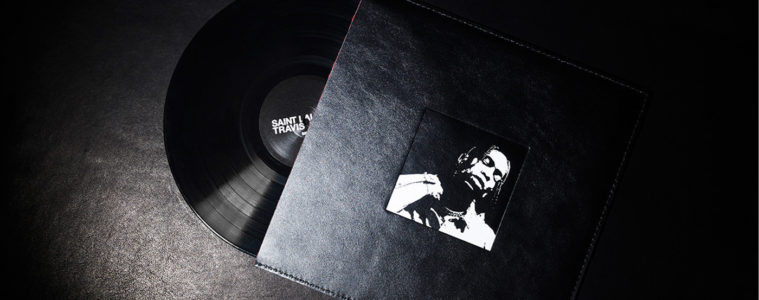 SAINT LAURENT X TRAVIS SCOTT LIMITED-EDITION VINYL RELEASE AT COLETTE