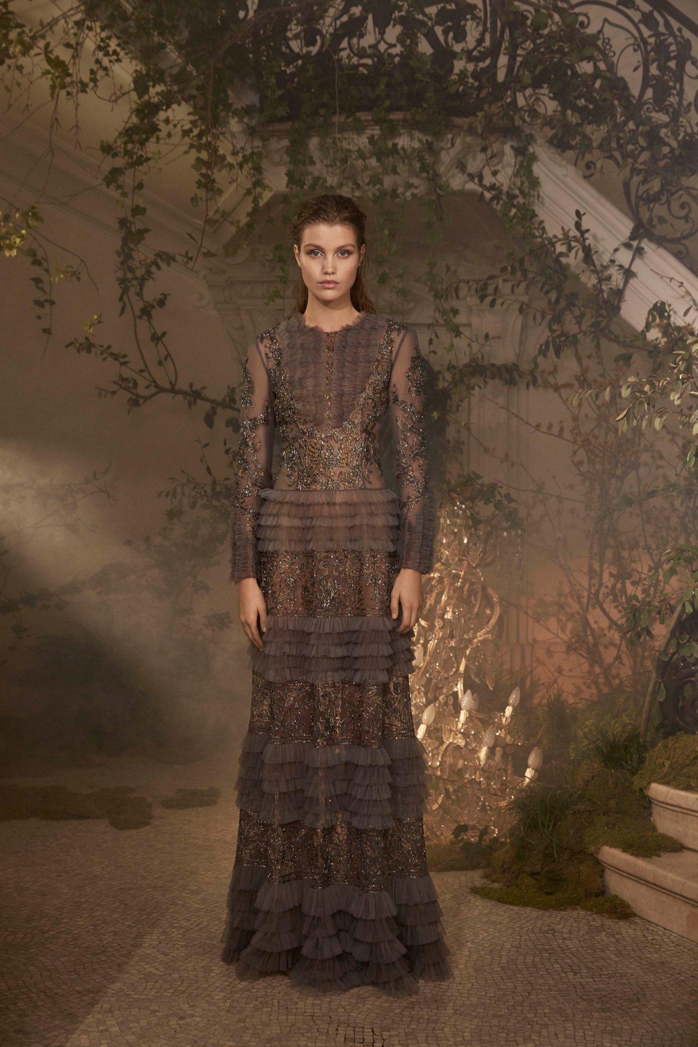 size 40 dd255 59147 Alberta Ferretti Limited Edition Spring 2018 Haute Couture ...