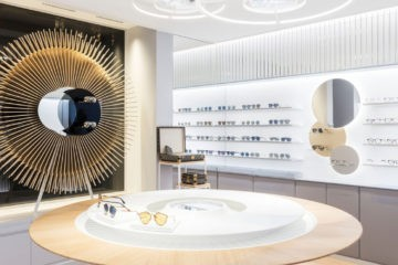CHRISTIAN DIOR FIRST EYEWEAR BOUTIQUE IN PARIS