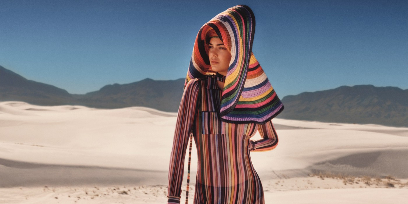 MISSONI SPRING 2018 AD CAMPAIGN FEATURING KENDALL JENNER