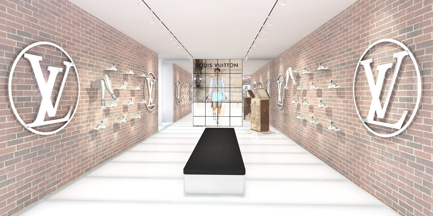 LOUIS VUITTON ARCHLIGHT SNEAKER POP-UP STORE IN NEW YORK