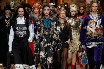 DOLCE & GABBANA FALL 2018 RTW COLLECTION