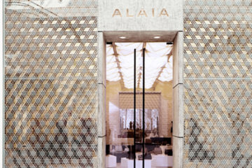AZZEDINE ALAIA FIRST BOUTIQUE IN THE MIDDLE EAST