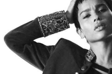 SAINT LAURENT FALL 2018 FILM CAMPAIGN STARRING ZOE KRAVITZ