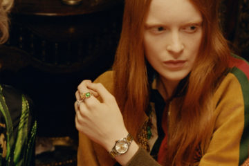 GUCCI 2018 TIMEPIECE AND JEWELRY FILM CAMPAIGN STARRING TIPPI HEDREN