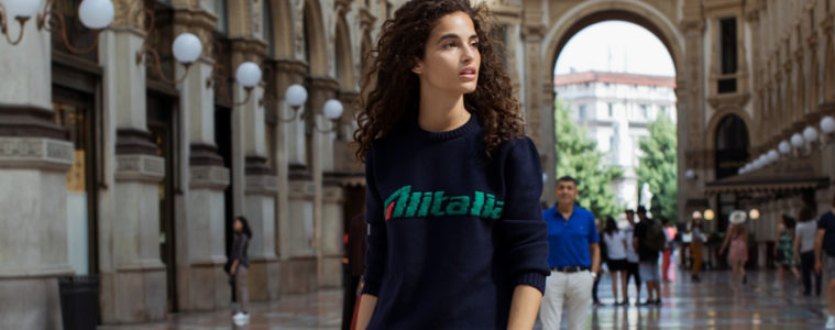 ALBERTA FERRETTI ALITALIA CAPSULE COLLECTION FILM