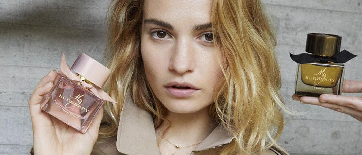 BURBERRY MY BURBERRY FRAGRANCE FILM STARRING LILY JAMES