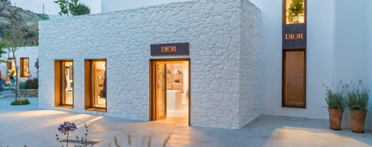 CHRISTIAN DIOR POP-UP SHOP IN MYKONOS