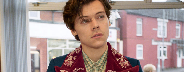 GUCCI MEN'S TAILORING AD CAMPAIGN FEATURING HARRY STYLES