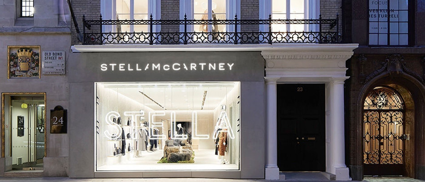 STELLA MCCARTNEY FLAGSHIP STORE IN LONDON