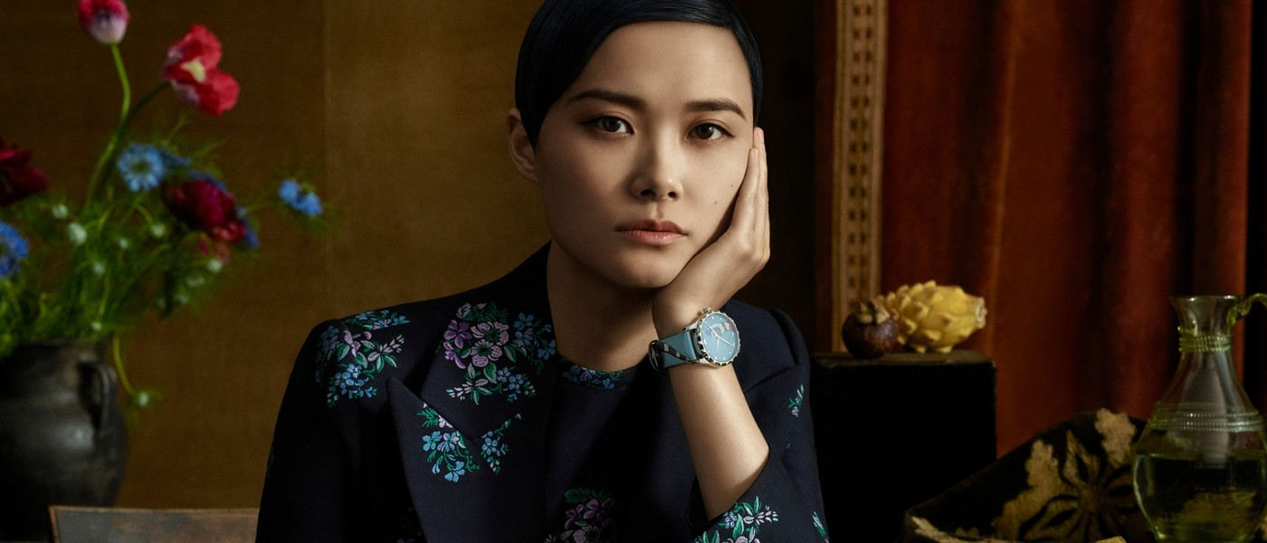 GUCCI 2018 TIMEPIECE AND JEWELRY AD CAMPAIGN STARRING CHRIS LEE