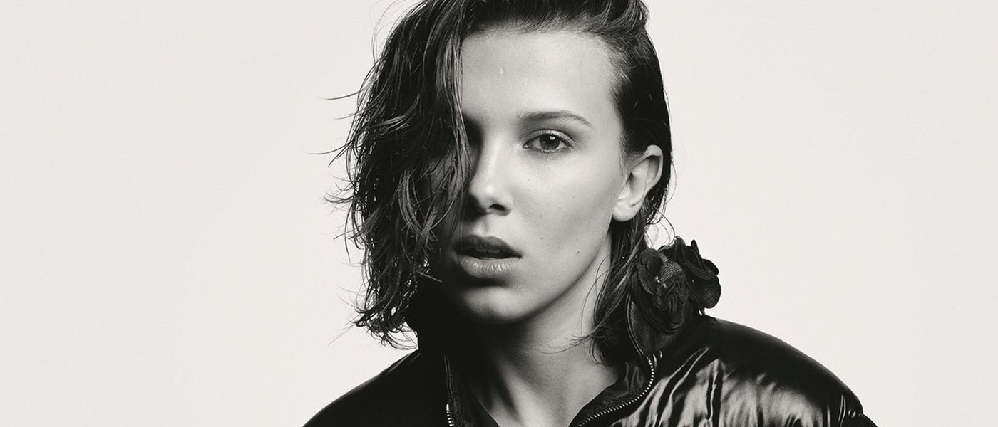 MONCLER BEYOND FILM CAMPAIGN FEATURING MILLIE BOBBY BROWN