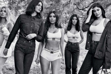 CALVIN KLEIN JEANS FALL 2018 AD CAMPAIGN STARRING THE KARDASHIANS AND JENNERS
