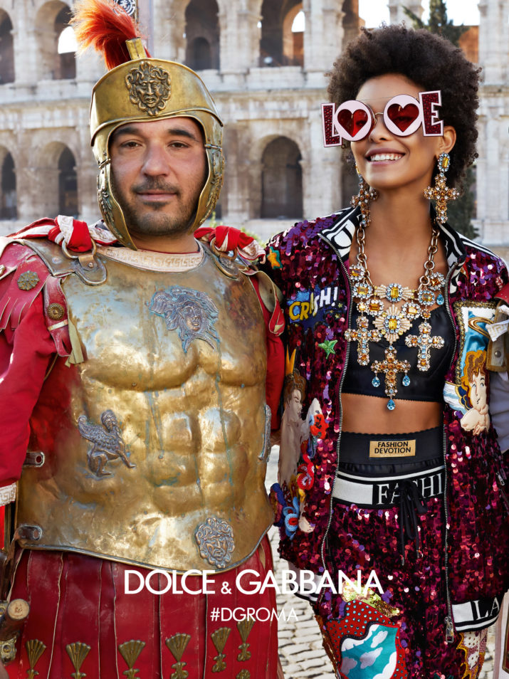 75a3af9a81 Dolce   Gabbana Fall 2018 Ad Campaign