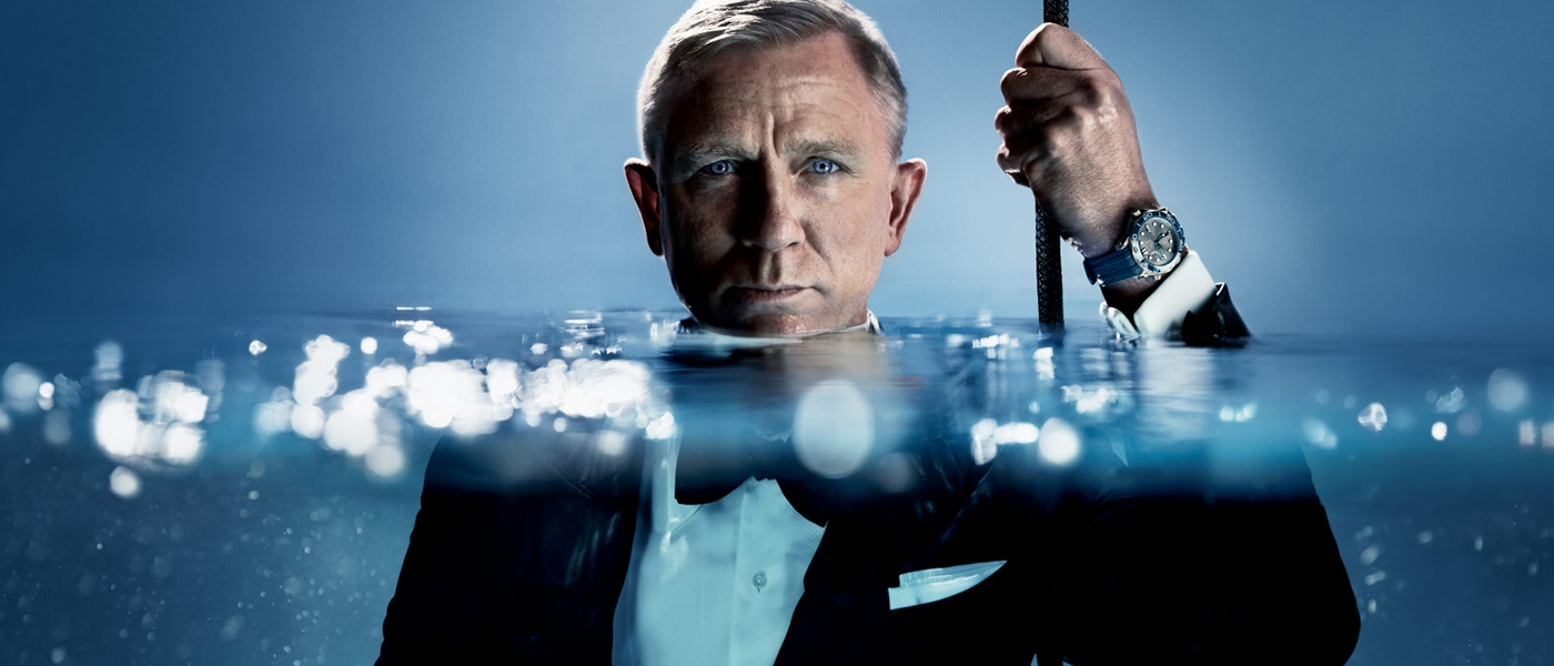 OMEGA SEAMASTER DIVER 300M TIMEPIECE COLLECTION FILM STARRING DANIEL CRAIG