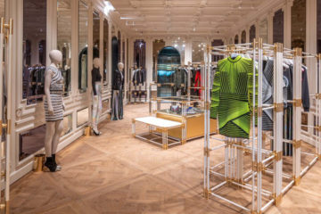 BALMAIN FLAGSHIP STORE IN MIAMI
