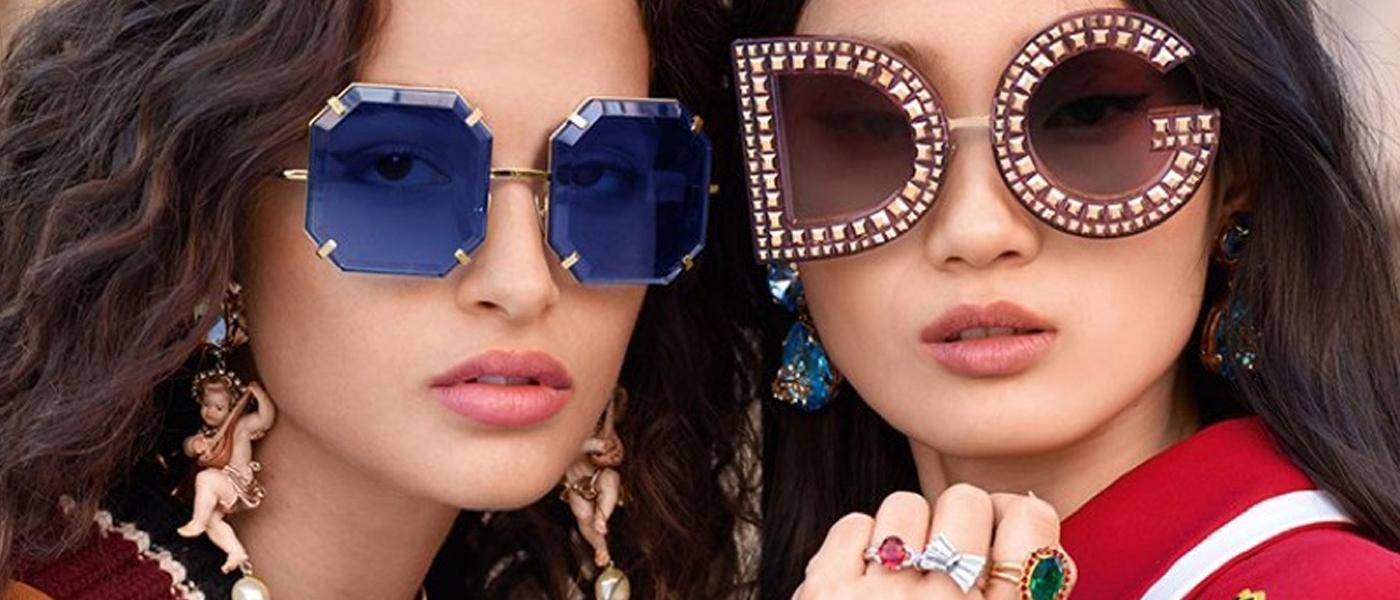 e3857a543e Dolce   Gabbana Fall 2018 Eyewear Ad Campaign