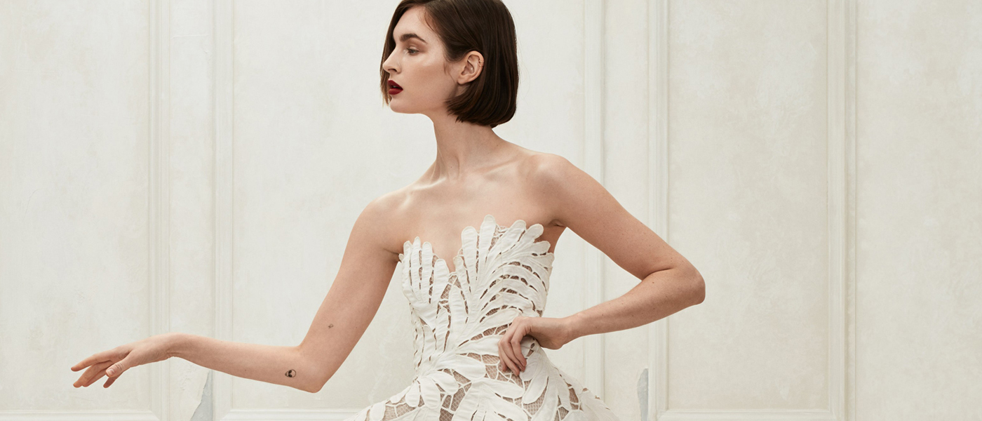 OSCAR DE LA RENTA FALL 2019 BRIDAL COLLECTION