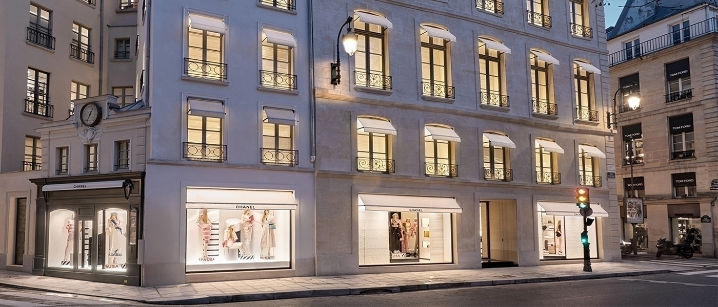 CHANEL NEW BOUTIQUE IN PARIS