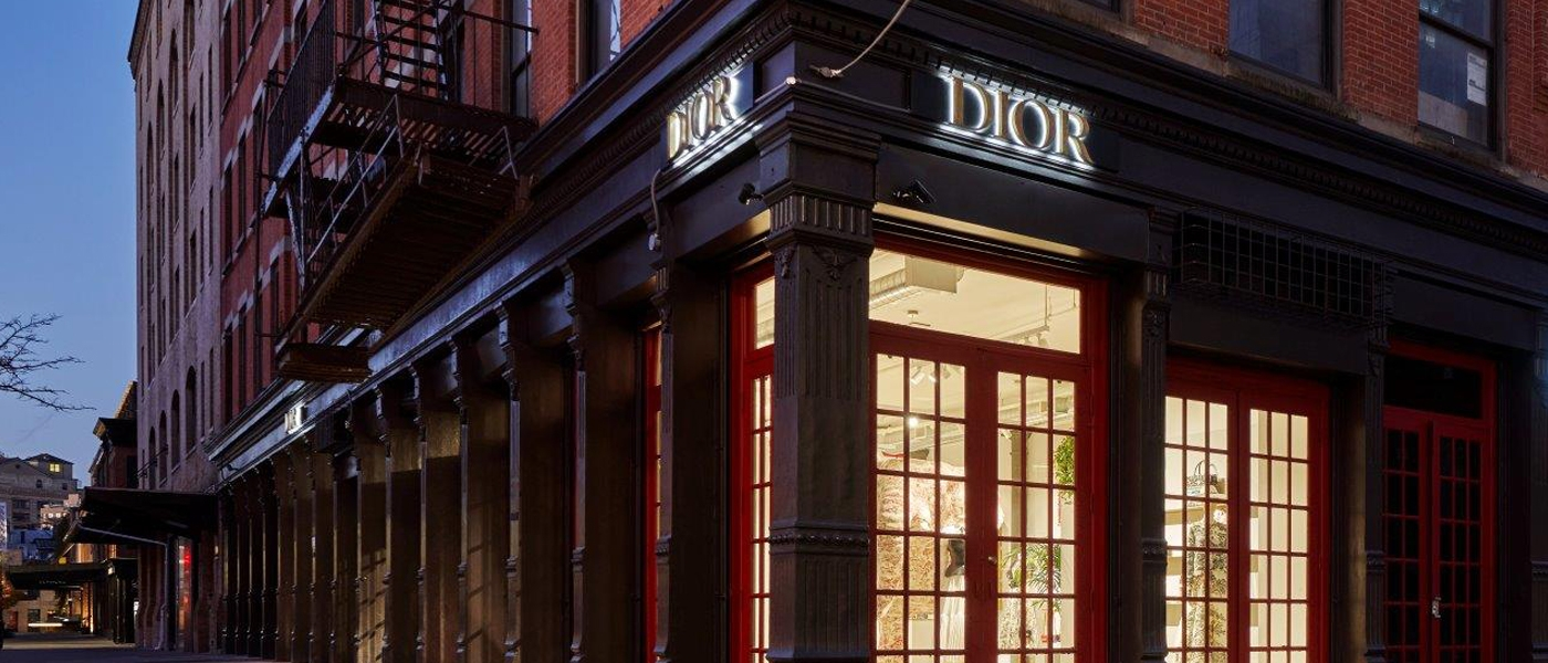 CHRISTIAN DIOR NEW BOUTIQUE IN NEW YORK CITY