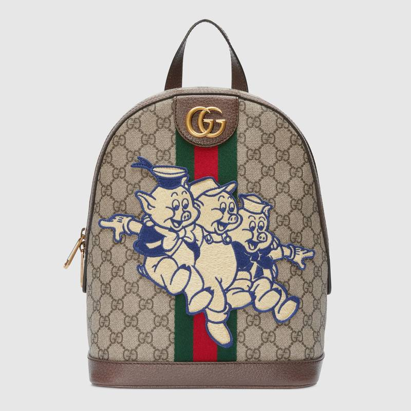 7aba9d1244bb Shop the Interactive Gucci Chinese New Year 'Three Little Pigs ...