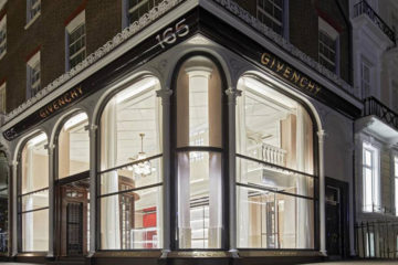 GIVENCHY FLAGSHIP STORE IN LONDON