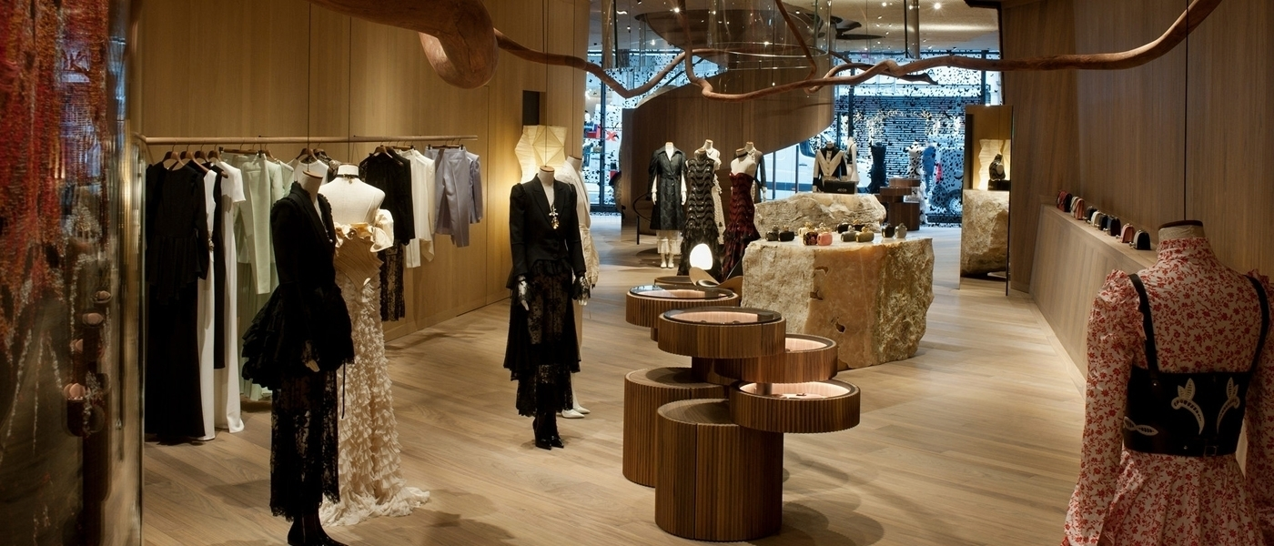 ALEXANDER MCQUEEN FLAGSHIP STORE IN LONDON