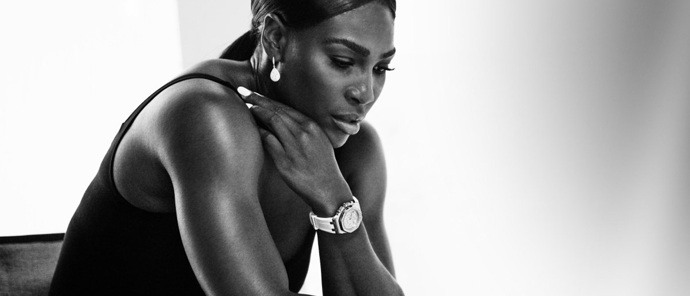 AUDEMARS PIGUET CODE 11.59 TIMEPIECE COLLECTION FILM STARRING SERENA WILLIAMS