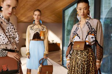 BURBERRY SPRING 2019 AD CAMPAIGN DEBUT BY RICCARDO TISCI