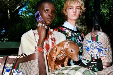 SHOP THE GUCCI CHINESE NEW YEAR THREE LITTLE PIGS CAPSULE COLLECTION