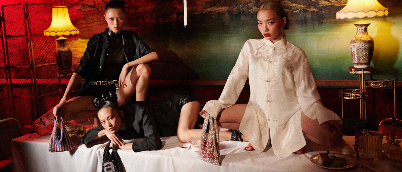 ALEXANDER WANG COLLECTION 1 DROP 3 AD CAMPAIGN