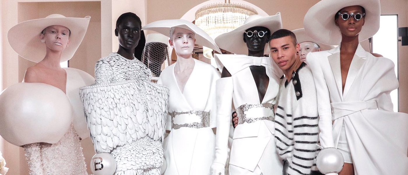 BALMAIN SPRING 2019 HAUTE COUTURE COLLECTION