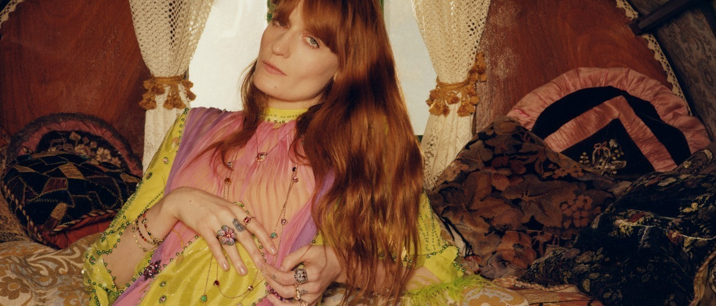 GUCCI SPRING 2019 JEWELRY AD CAMPAIGN FEATURING FLORENCE WELCH