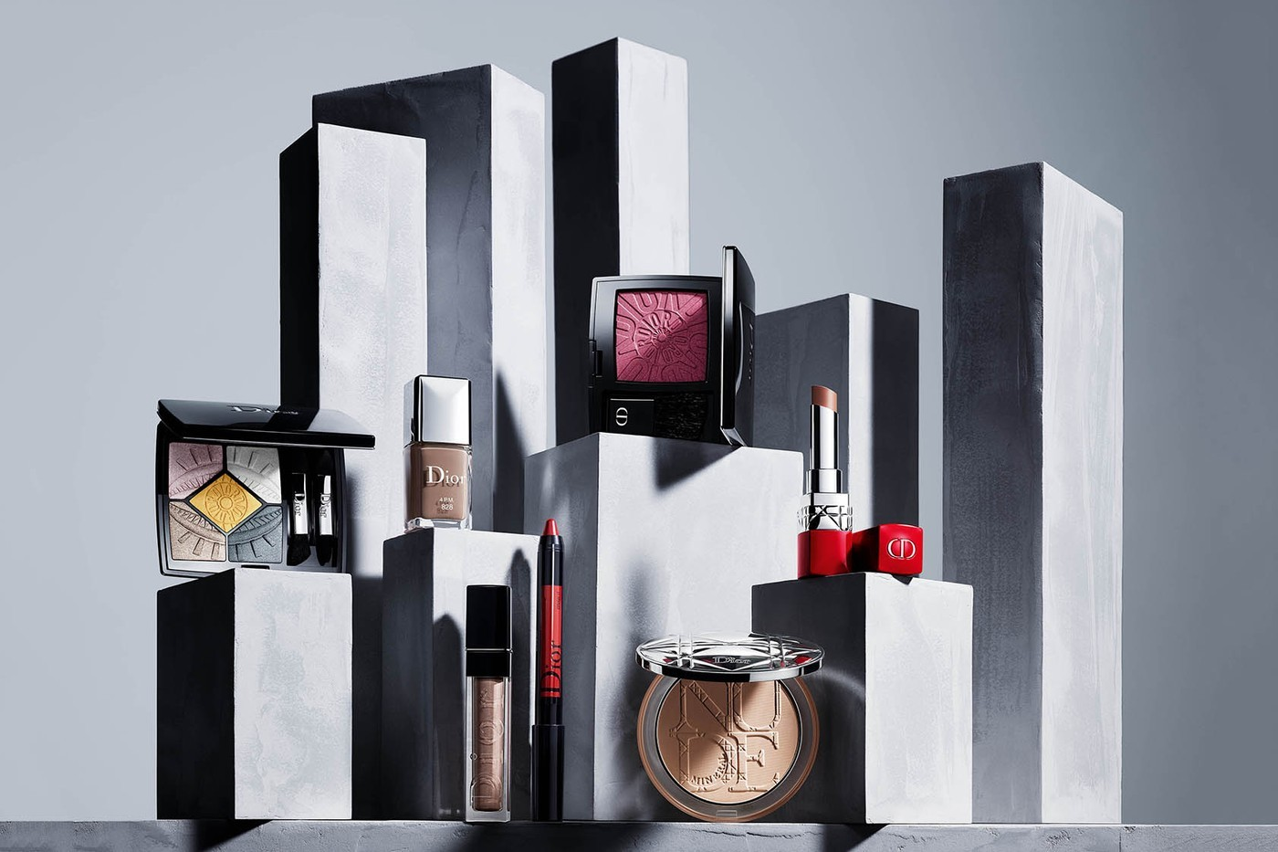 Christian Dior Fall 2019 Power Look Makeup Collection Les Fa 199 Ons
